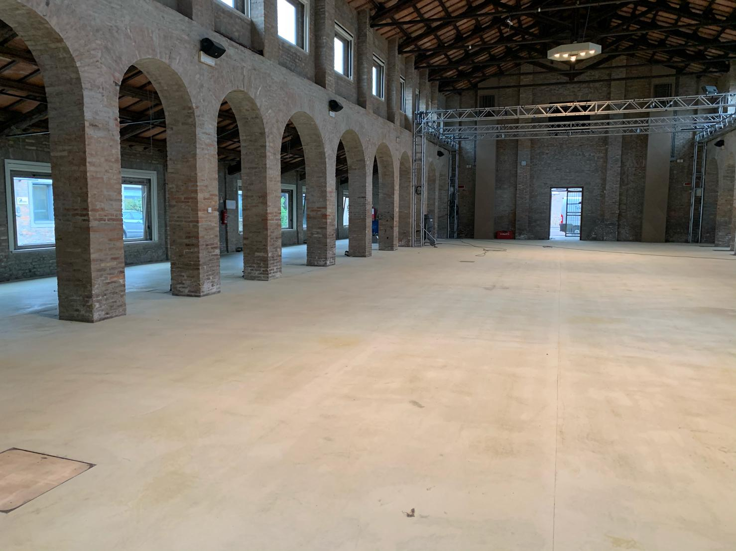 Pavimenti in resina all'Almagià di Ravenna