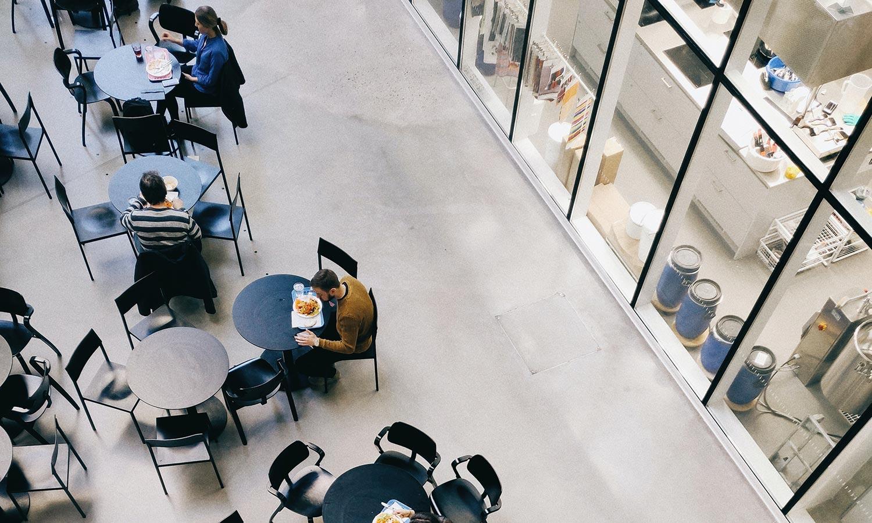 Pavimenti in resina in una grande azienda alimentare di Ravenna